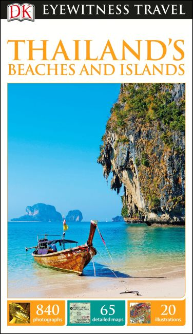 Flexibound cover of DK Eyewitness Travel Guide Thailand's Beaches and Islands