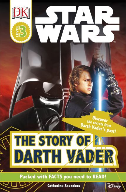Paperback cover of DK Readers L3: Star Wars: The Story of Darth Vader