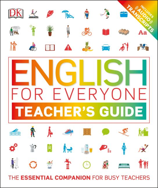 Flexibound cover of English for Everyone Teacher's Guide