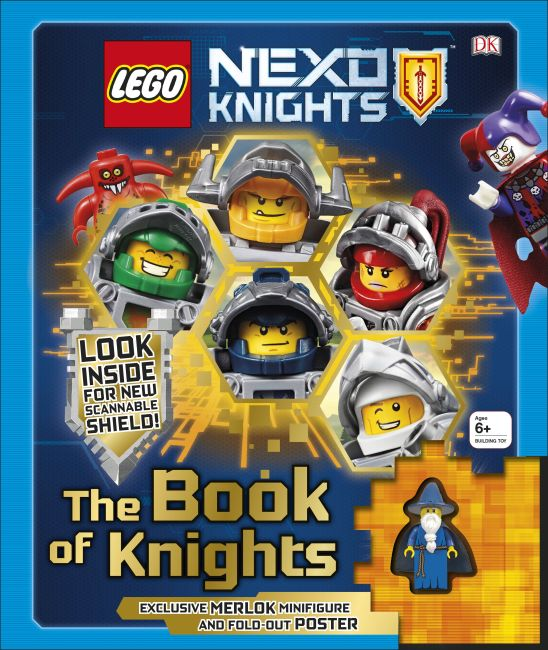 Hardback cover of LEGO NEXO KNIGHTS: The Book of Knights