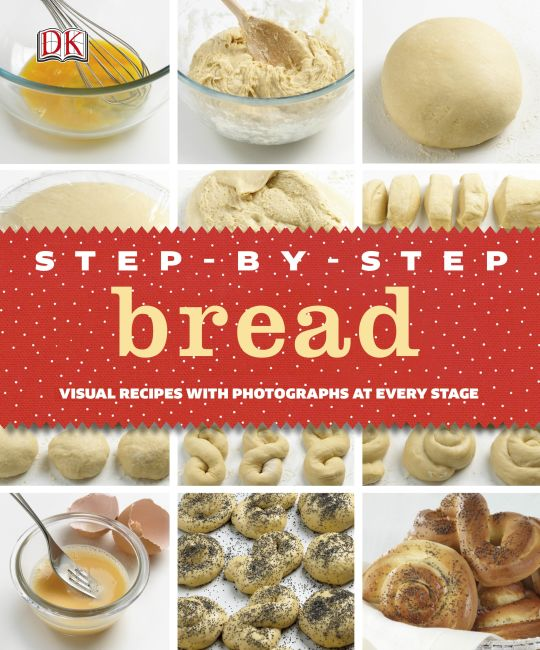 Hardback cover of Step-by-Step Bread