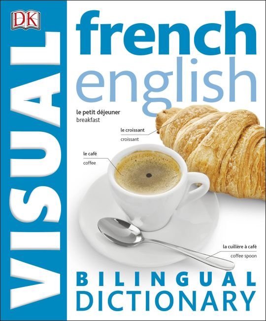eBook cover of French English Bilingual Visual Dictionary