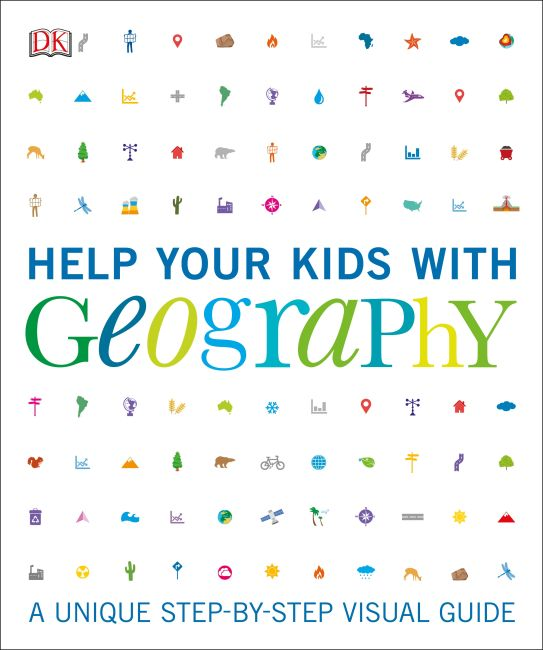 Paperback cover of Help Your Kids with Geography