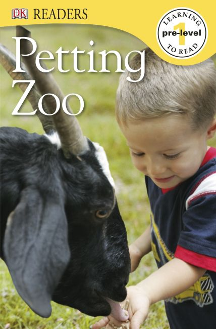 Paperback cover of DK Readers L0: Petting Zoo