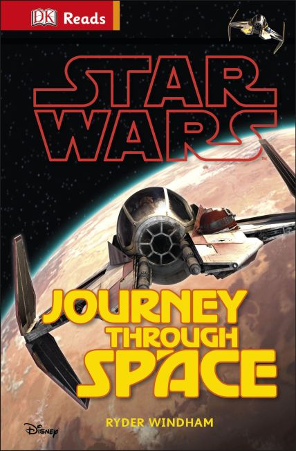 Hardback cover of Star Wars Journey Through Space