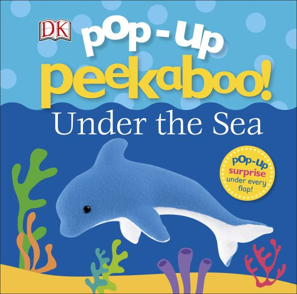 Board book cover of Pop-Up Peekaboo! Under The Sea