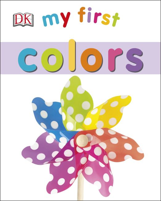 Board book cover of My First Colors