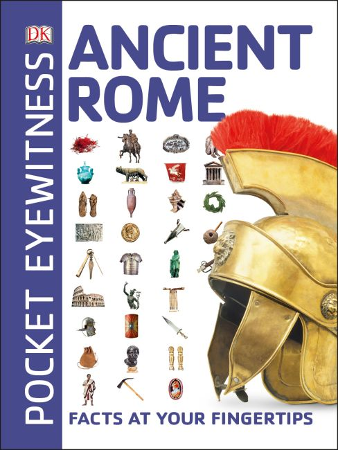 Paperback cover of Pocket Eyewitness Ancient Rome
