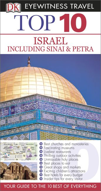 eBook cover of Top 10 Israel including Sinai and Petra