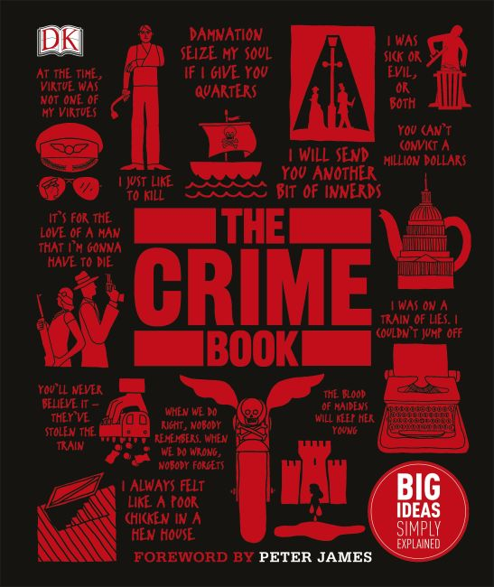 Hardback cover of The Crime Book