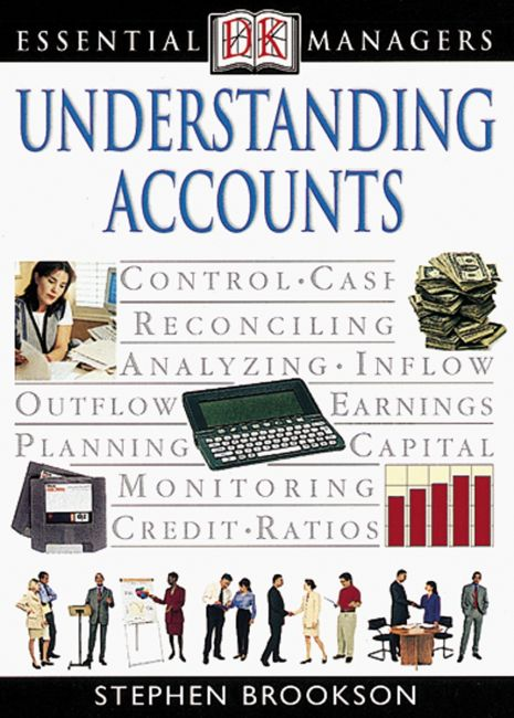 eBook cover of DK Essential Managers: Understanding Accounts