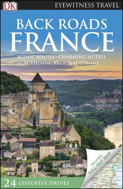 Flexibound cover of DK Eyewitness Back Roads France