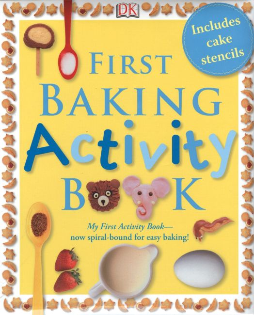 eBook cover of First Baking Activity Book