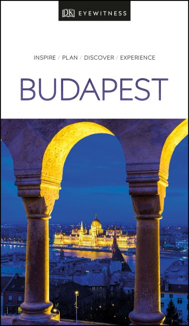 Paperback cover of DK Eyewitness Travel Guide Budapest