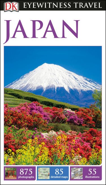 Flexibound cover of DK Eyewitness Travel Guide Japan
