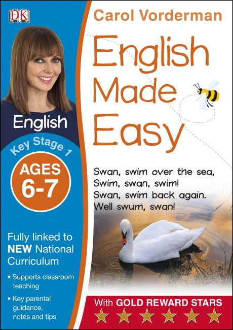 Paperback cover of English Made Easy Ages 6-7 Key Stage 1