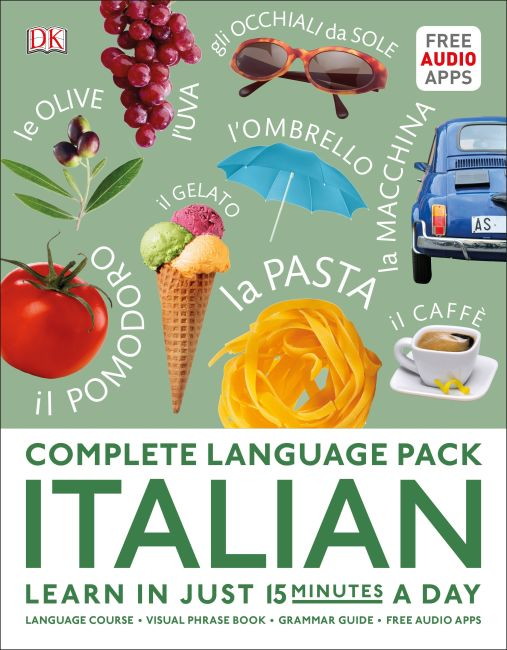 Hardback cover of Complete Language Pack Italian