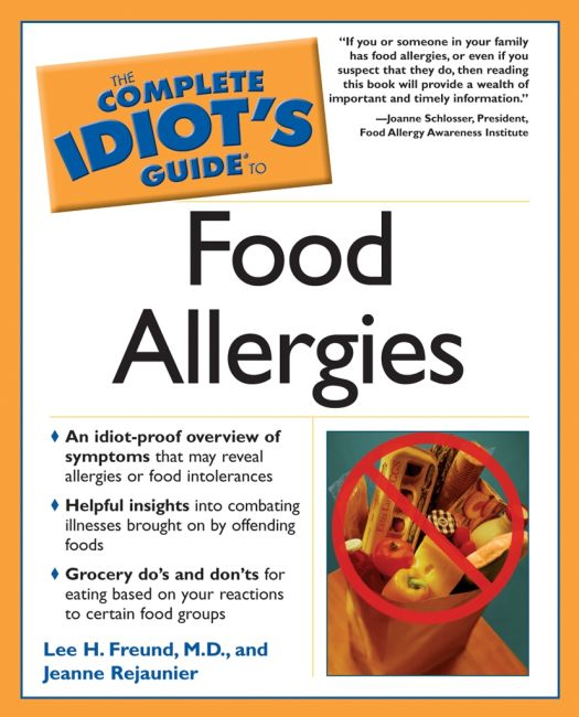 eBook cover of The Complete Idiot's Guide to Food Allergies