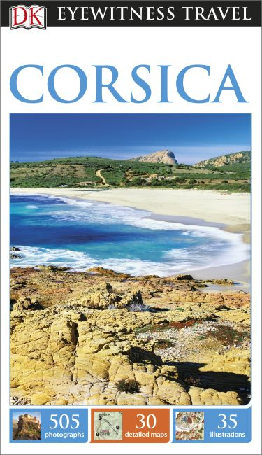 Flexibound cover of DK Eyewitness Corsica