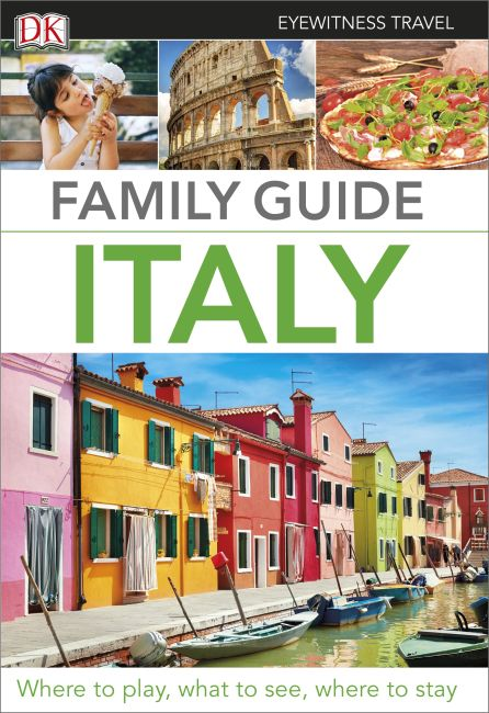 Paperback cover of Family Guide Italy