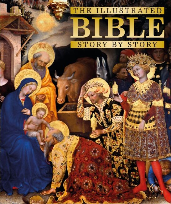 Hardback cover of The Illustrated Bible Story by Story