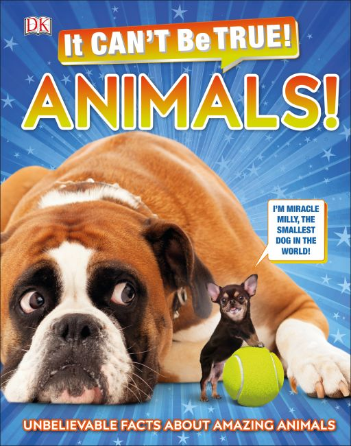 Hardback cover of It Can't Be True! Animals!