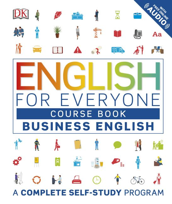 Hardback cover of English for Everyone: Business English, Course Book