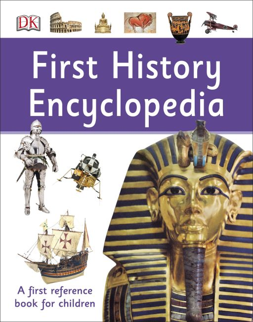 Hardback cover of First History Encyclopedia