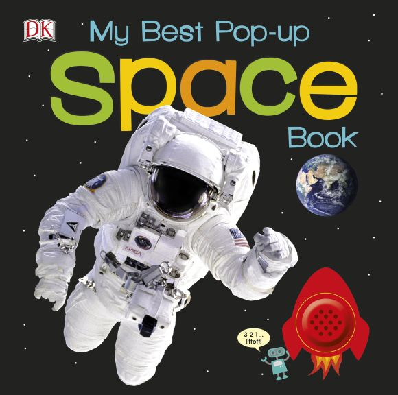 Board book cover of My Best Pop-up Space Book