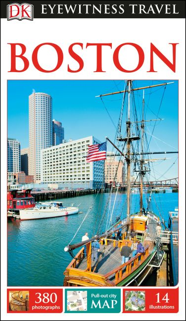 Flexibound cover of DK Eyewitness Travel Guide Boston