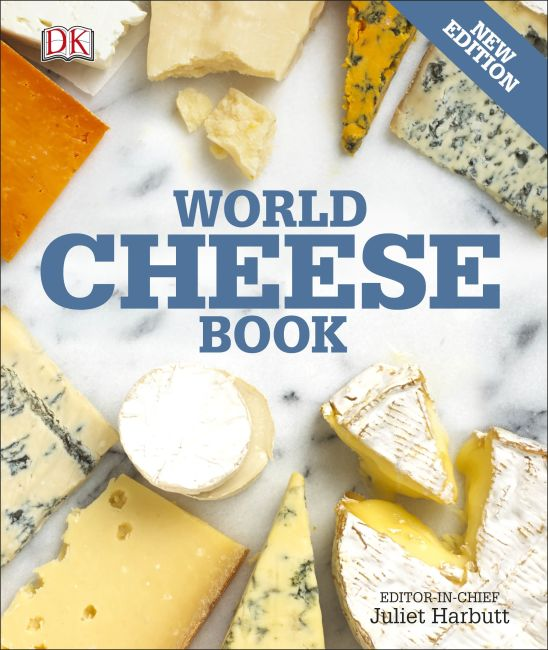 Paperback cover of World Cheese Book