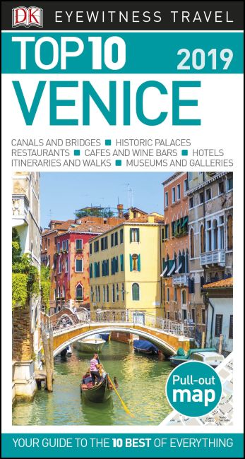 Paperback cover of Top 10 Venice