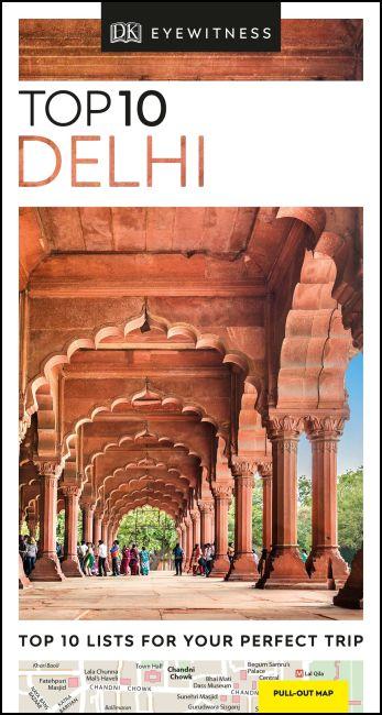 Paperback cover of DK Eyewitness Top 10 Delhi