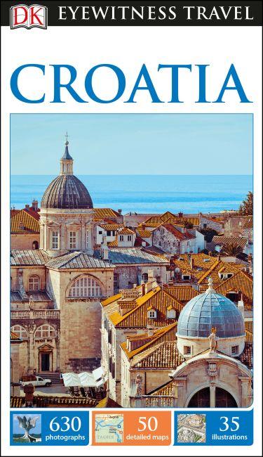 Flexibound cover of DK Eyewitness Travel Guide Croatia