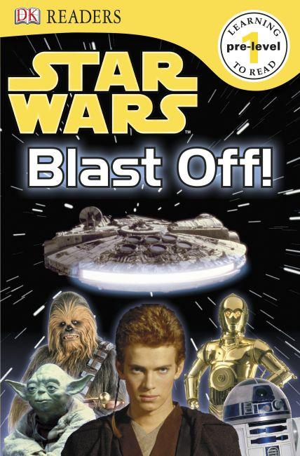 Paperback cover of DK Readers L0: Star Wars: Blast Off!