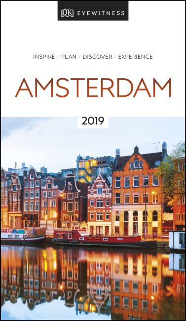 Paperback cover of DK Eyewitness Travel Guide Amsterdam