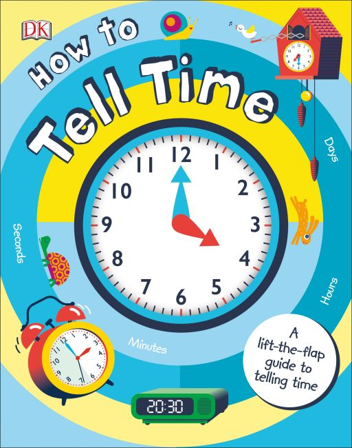 Board book cover of How to Tell Time