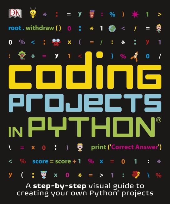 Paperback cover of Coding Projects in Python