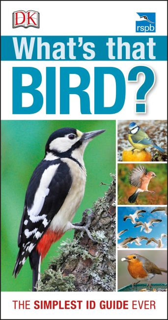 Paperback cover of RSPB What's that Bird?