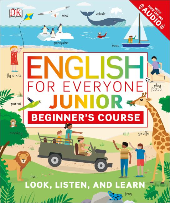 Flexibound cover of English for Everyone Junior: Beginner's Course