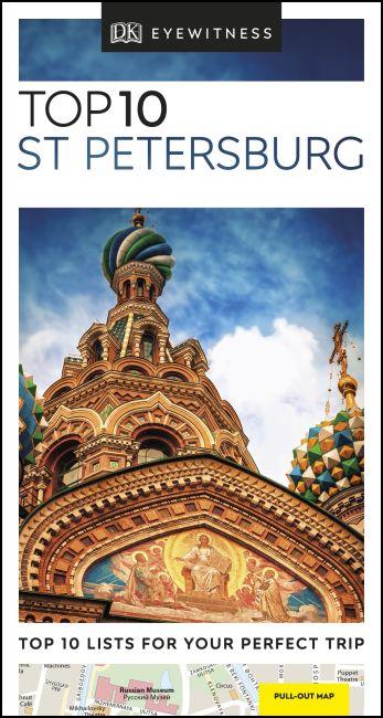 Paperback cover of DK Eyewitness Top 10 St Petersburg