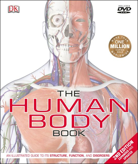 Hardback cover of The Human Body Book (2nd Edition)