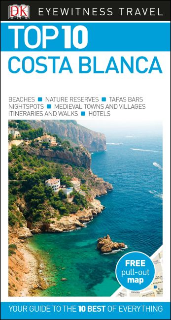 Paperback cover of Top 10 Costa Blanca
