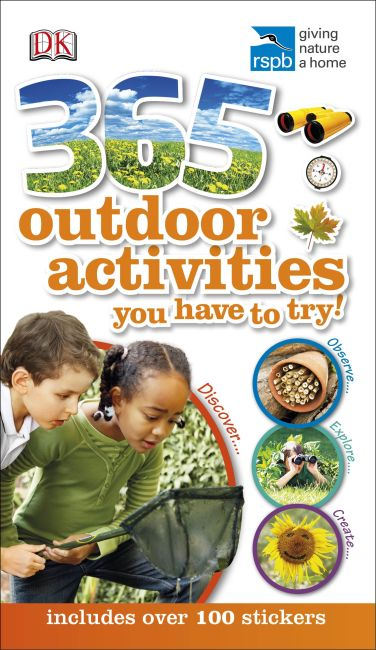 Flexibound cover of RSPB 365 Outdoor Activities You Have to Try