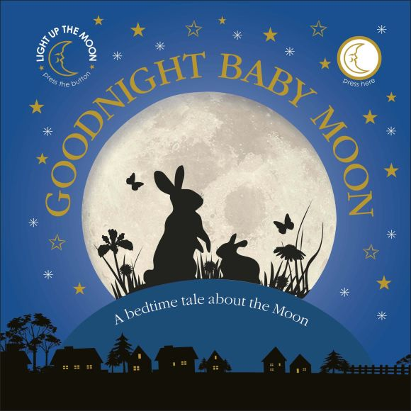 Board book cover of Goodnight Baby Moon