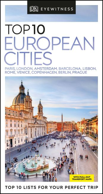 Paperback cover of DK Eyewitness Top 10 European Cities
