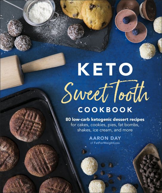 Paperback cover of Keto Sweet Tooth Cookbook