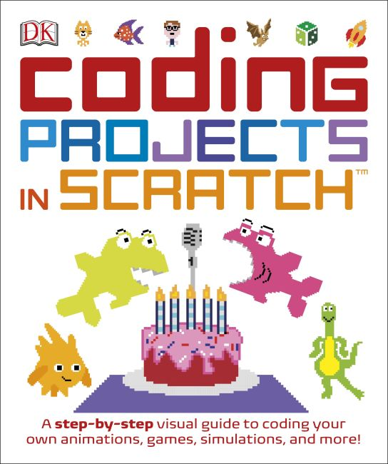 Paperback cover of Coding Projects in Scratch