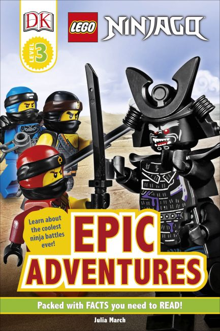 Hardback cover of LEGO NINJAGO Epic Adventures