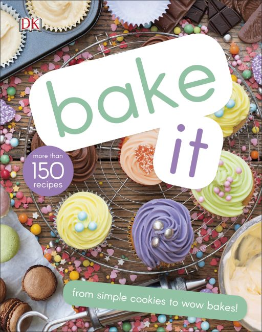 Hardback cover of Bake It